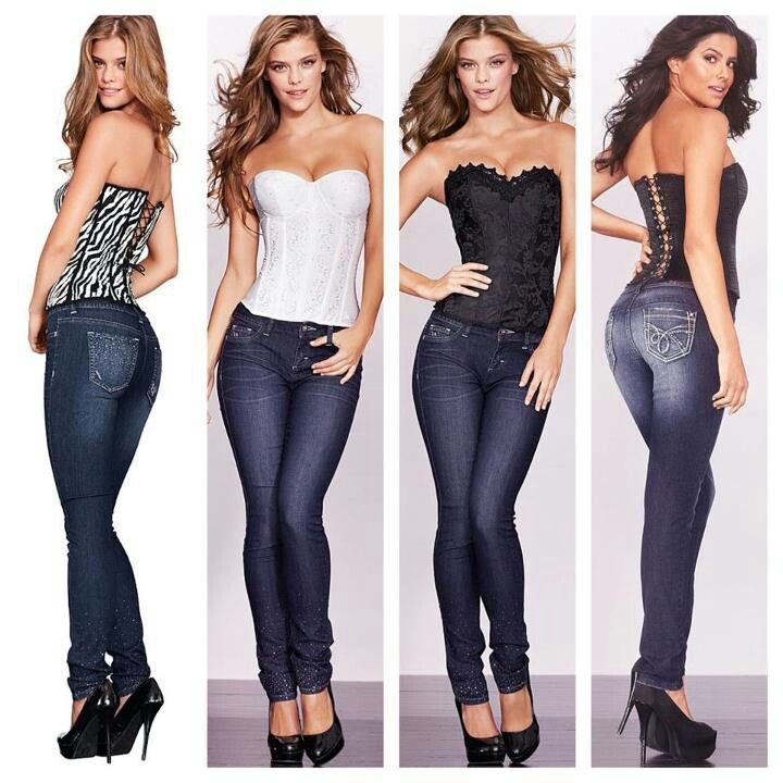 How To Wear A Corset With Jeans