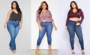 Best Plus Size Jeans For Big Stomach